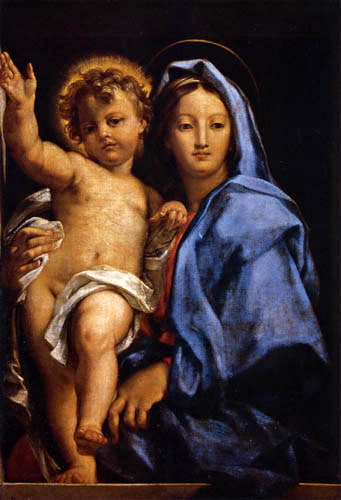 Carlo Maratta - Madonna with child