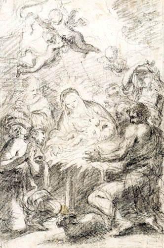 Carlo Maratta - Adoration of the Shepherds
