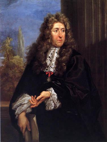 Carlo Maratta - Portrait of André le Nôtre