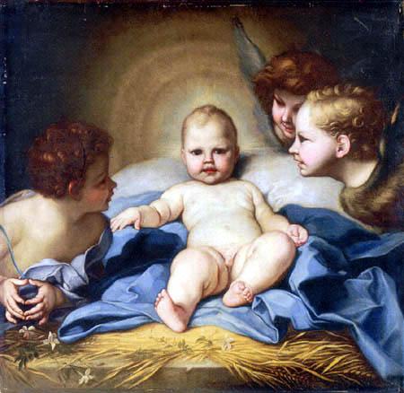 Carlo Maratta - The Infant Christ