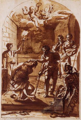 Carlo Maratta - The Martyrdom of St. Jean-Baptiste