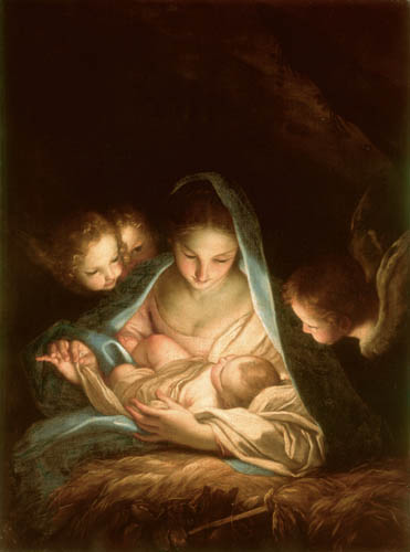 Carlo Maratta - Maria with the Jesus Child