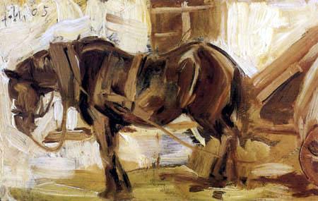 Franz Marc - Kleine Pferdestudie II