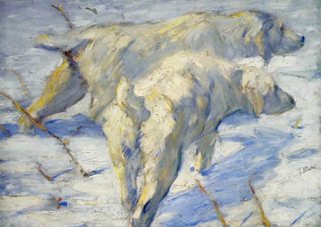 Franz Marc - Sibirische Schäferhunde