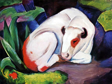 Franz Marc - The bull