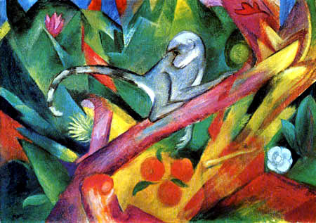 Franz Marc - The Monkey