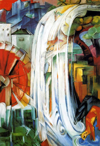 Franz Marc - The bewitched mill