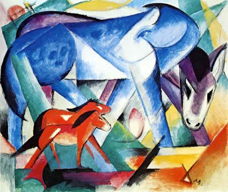 Franz Marc - The first animals