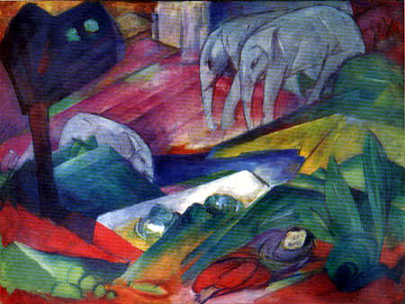 Franz Marc - The dream