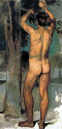 Hans von Marées - Orangenpflücker