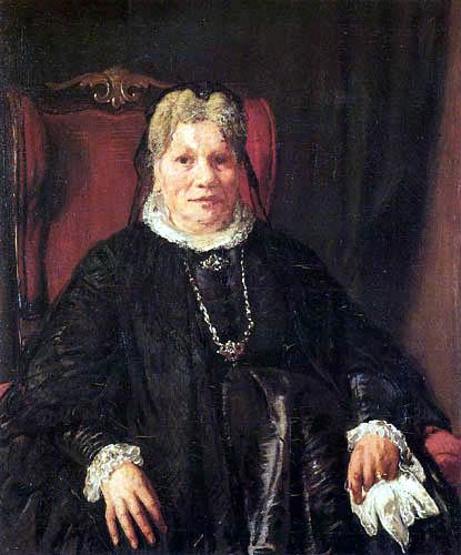 Hans von Marées - Bildnis Frau Schäuffelen