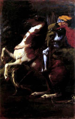 Hans von Marées - Sankt Georg