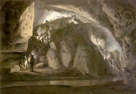 Károly Markó II - Stalactite cave