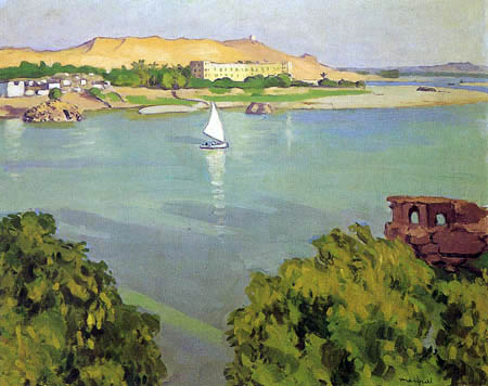 Albert Marquet - Assuan am Morgen