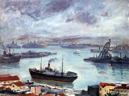 Albert Marquet - The Bay of Tangier