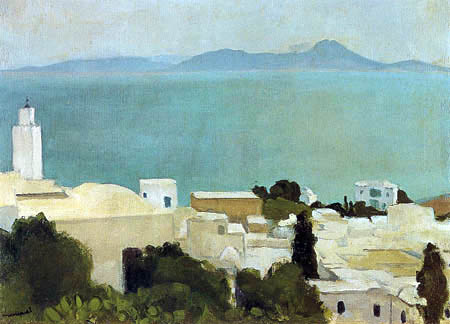 Albert Marquet - The minaret of Sidi Bou Said