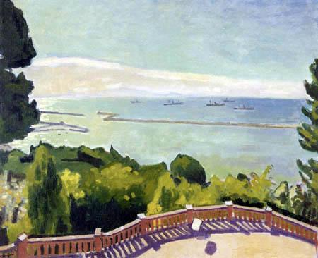 Albert Marquet - Terrasse de l´Estaque a Marseille