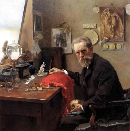 Carl von Marr - The Father, John Marr