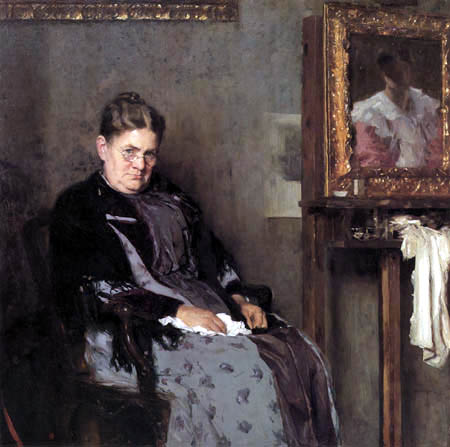 Carl von Marr - Mother, Bertha Marr