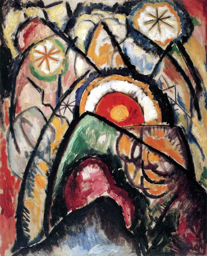 Marsden Hartley - Gemälde Nr 1