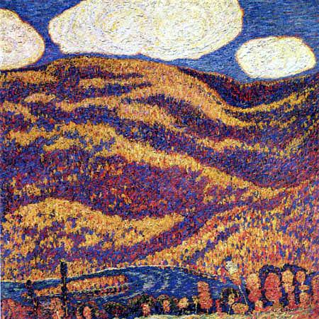 Marsden Hartley - Carnival of Autumn