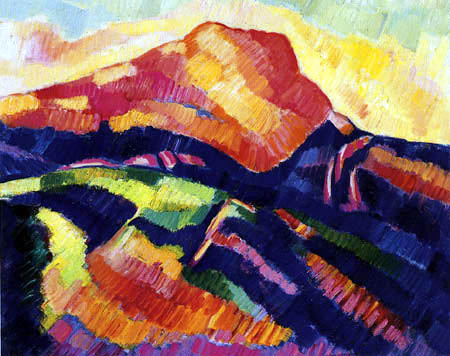 Marsden Hartley - Mont Sainte Victoire