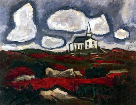 Marsden Hartley - Die weisse Kirche
