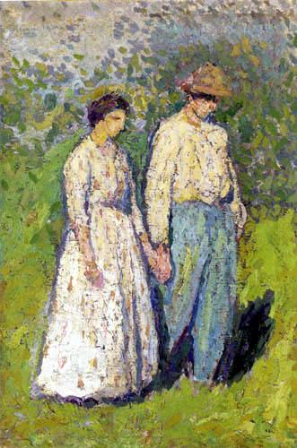Henri Martin - Zwei Bauern