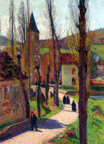 Henri Martin - Die Kirche von Bastide-du-Vert
