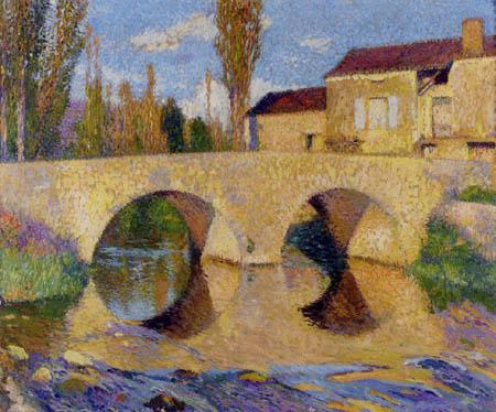 Henri Martin - Die Brücke von Bastide-du-vert