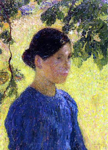 Henri Martin - Porträt einer Frau