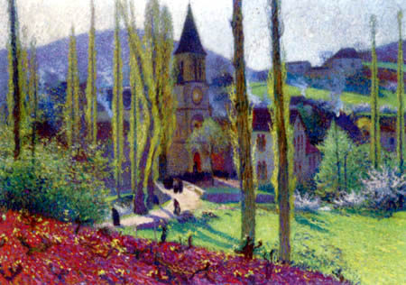 Henri Martin - Nach der Messe, Labastide-du-Vert