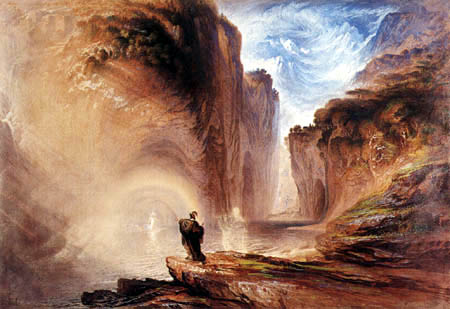 John Martin - Manfred and the alpine witch