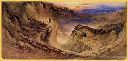 John Martin - Josua erkundet das Land Kanaan