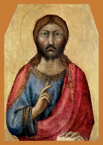 Simone Martini (Simone di Martino) - Jesus Christ