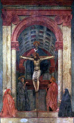 Masaccio (Tommaso di Ser ) - Trinity