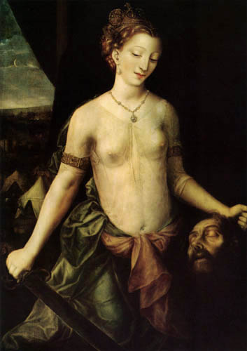 Jan Massys - Judith with the Head of Holophernes
