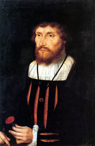 Quentin Massys - King Christian II of Denmark