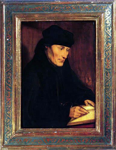 Quentin Massys - Desiderius Erasmus Roterodamus