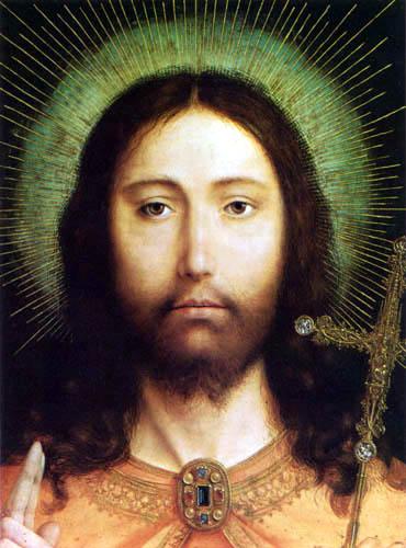 Quentin Massys - Jesus Christ as Salvator