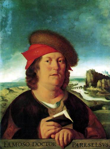 Quentin Massys - Portrait of Paracelsus