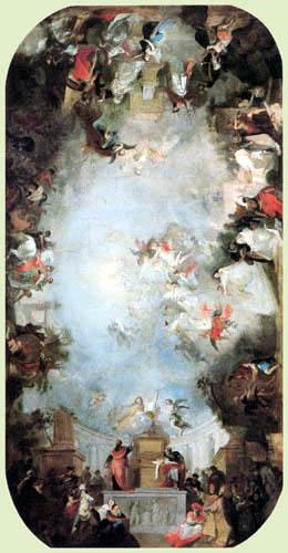 Franz Anton Maulbertsch (Maulpertsch) - The divine wisdom