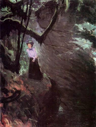 Józef Mehoffer - La garganta, La Gorge d´Areuse