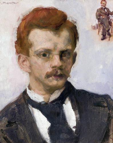 Józef Mehoffer - Selfportrait
