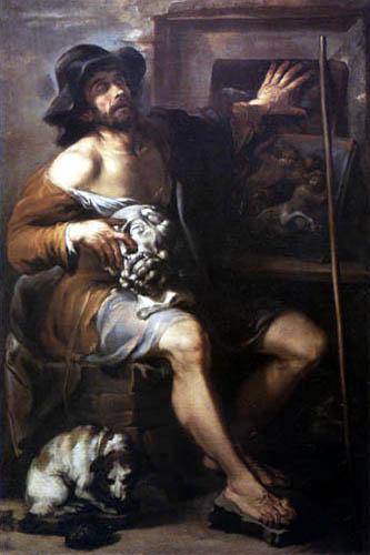 Livio Mehus - L'aveugle des Gambassi
