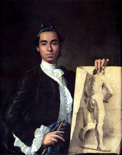 Luis E. Meléndez - Selfportrait