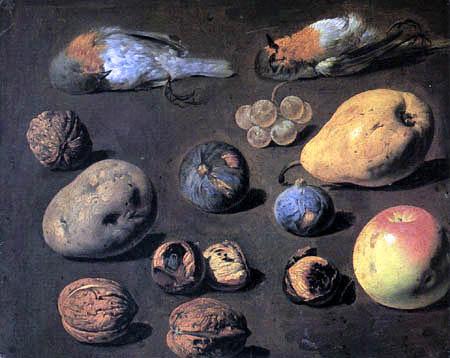 Luis E. Meléndez - Nuts, Fruit and dead birds