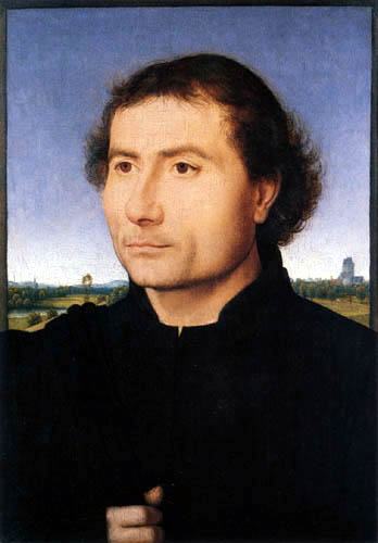 Hans Memling - Portrait of a man