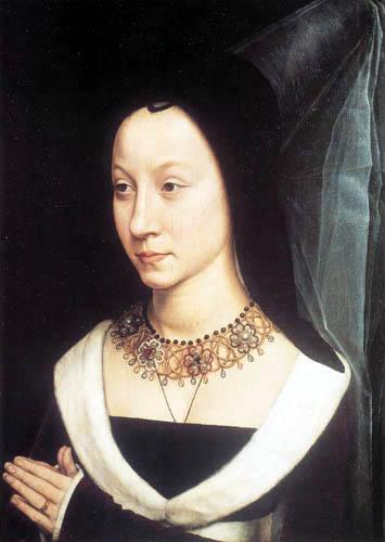 Hans Memling - Portrait d' Maria Portinari (Baroncelli)