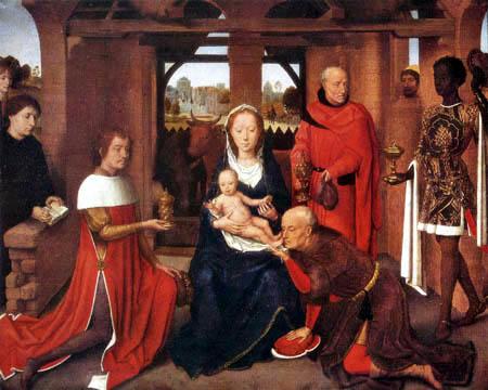 Hans Memling - La Adoration des rois